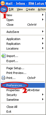 notes file preferences